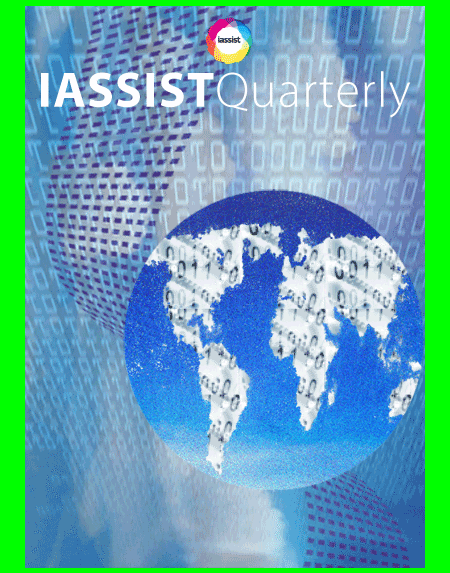 Welcome to the third issue of volume 44 of the IASSIST Quarterly